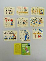 Vintage Walt Disney Donald Duck Educational Card Game Ed-U-Cards in Box