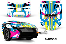 AMR Racing Freedom Trailer Graphic Kit Decal Wrap For CanAm Spyder FLASHBACK