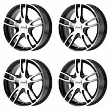 4x American Racing 16x7 AR919 Estrella 2 Wheels G-Black Mach 5x4.25/108/114 +40