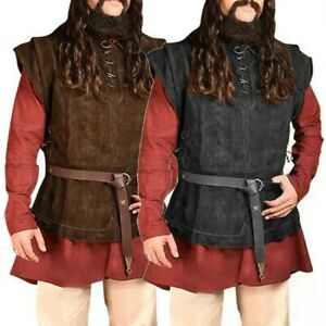 Soft Vest Steampunk Vintage Breathable Casual Cosplay Costume Costumes