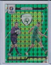 2016 Prizm Euro Green Prizms /5 Shay Given Jon Walters Ireland SP SSP Mint?