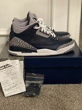 """Nike Air Jordan Retro 3 """"Georgetown"""" 2021 CT8532-401 size 8.5 VNDS WITH RECEIPT"""