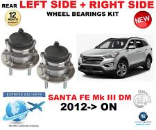 pour Santa Fe ROULEMENT DE ROUE ARRIÈRE MK III DM à gauche + Côté DROIT 2012- >