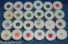 HUMBROL RAIL PAINTS X 24 POTS. FULL SET. - WATER BASED ACRYLIC 14ml PAINTS