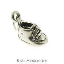 925 Sterling Silver Baby Shoe Charm American Made