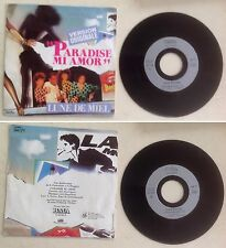Lune de miel Disque 45T vinyl 2 titres Paradise mi amor vintage