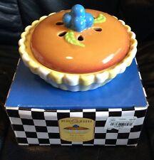 GORHAM Merry Go Round PAT A CAKE Stoneware Covered Souffle Dish BAKEWARE NIB