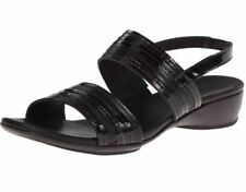Munro Women's Black Tangier Slingback Sandals 1543 Size 6W $184