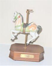 IMPLUSE GIFTWARE 1987 Music Box DENTZEL C 1905 Carousel Horse-Eagle
