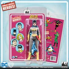 "DC Comics Retro   Batgirl with retro card  8"" action figure MIP NEW sealed"