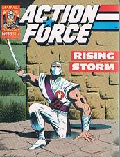 G.I. Joe Action Force UK Silent Issues #37 & #38 Snake Eyes & Storm Shadow 1987