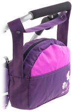 Bayer Chic 2000 Wickeltasche Zubehör für Puppenwagen Pflaume lila Mädchen Kinder