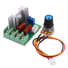 2000W 220V AC SCR Voltage Regulator Speed Controller Dimming Dimmers Thermostat