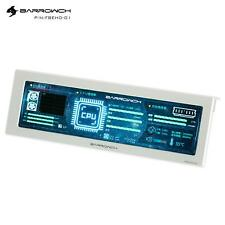 More details for barrowch 250mm ips high definition system monitoring lcd display - silver