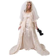 IL Deluxe Victorian Ghost Bride Costume HALLOWEEN Ballgown Ladies Haunting 4549