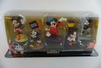 Disney Mickey Mouse Collectible Figure Set True Original 90 Year Special Edition