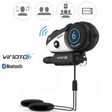 Vimoto V6 Helmet BT4 Bike MP3 Player Earphone Good Sound For 2Ways Radio Sat Nav