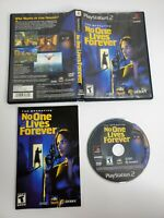 The Operative No One Lives Forever - (Sony, Playstation 2, PS2)  Complete