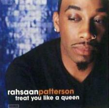 Rahsaan Patterson: Treat You Like A Queen PROMO w/ Artwork MUSIC AUDIO CD 3 trk