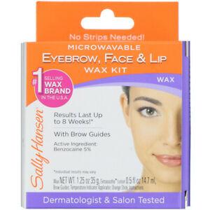 Sally Hansen, Eyebrow, Face & Lip Wax Kit, 1 Kit