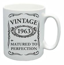 55th Novelty Birthday Gift Present Tea Mug 1963 Matured To Perfection Coffee Cup