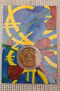 FRANCE- 1/4 EURO 2002-L'Euro des Enfants - Blister Neuf