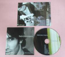 CD FABRIZIO MORO Domani 2008 eu ATLANTIC 5051442734027 (Xi1) no lp mc vhs dvd