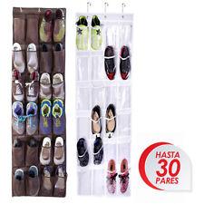 1pcs Zapatero Organizador Zapatos Colgante 24 Pares Estanteria Detras Puerta