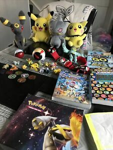 Pokemon Bundle Teddy Figures DVD Poster Books