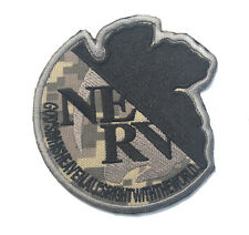 NERV GOD'S IN HIS HEAVEN ALL'S RIGHT WITH THE WORLD 3D MORALE HOOK LOOP PATCH *1