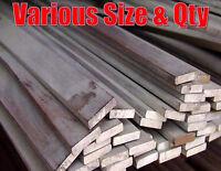 Mild steel flat bar black finish 125mm 250mm 330mm 500mm 1 metre various qty