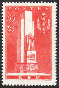 France B73, MvLH. Monument in honor of the Army Medical Corps, 1938