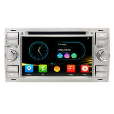 "7"" Car Radio DVD Stereo GPS 3G SatNav BT For Ford C/S-Max Transit/Galaxy/Kuga UK"