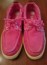 Timberland Earthkeepers pink canvas shoes size uk 4.5