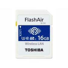 New Toshiba FlashAir 4th Generation SD card - 16GB F/S from Japan