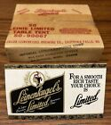 SEALED Box Of 50-1991 LEINENKUGEL'S Limited Beer Advertising Pub Bar Table Tents