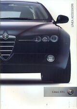 Alfa Romeo ACCESSORIES UK market sales brochure 2006 147 159 156 GT