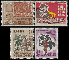 VIETNAM du SUD N°297/300* Anniv Revolution, 1966 South Viet Nam Sc #294-297 MH