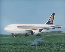 SINGAPORE AIRLINES AIRBUS A310 LARGE PHOTO