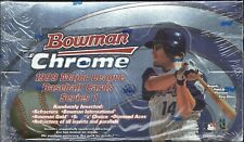 1999 Bowman Chrome Series 1 Factory Sealed Baseball Hobby Box  Gold Refractors