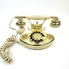 Paramount Electronics Vintage Style Corded Phone Pel Model 1946 Tested Working