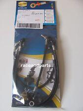 Stahlflexbremsleitung Stahlflexleitung Honda CBR 600 F CBR600F PC41 schwarz 2011