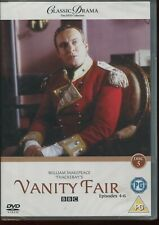 CLASSIC DRAMA COLLECTION - VANITY FAIR PART 2 EPS 4-6 BBC NEW SEALED