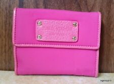 Pre-Owned Kate Spade Hot Pink Nylon Bifold Wallet
