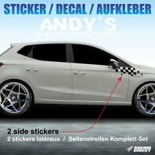 999 sticker FLAG pour SEAT Ibiza FR Cupra aufkleber decal adesivi pegatina