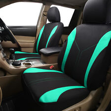 Front Pair Car Seat Covers Breathable Sweet Lady Universal Auto Seat Protectors