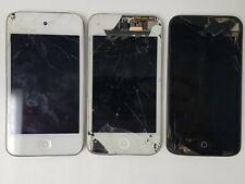 Lot of 3 Apple iPod Touch 2nd Gen. Black, White (8GB) A1367 -- Parts / Repair