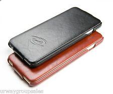 Apple iPhone 6/6S (Black) Handmade Leather Vertical Flip Case URWay SALE 60% OFF