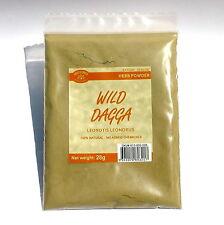 WILD DAGGA 28 grams Leonotis leonurus wildcrafted herb powder supplement relax