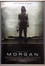 Cinema Poster: MORGAN 2016 (One Sheet) Kate Mara Anya Taylor-Joy Rose Leslie